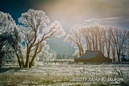 Frosted Barn Dec10