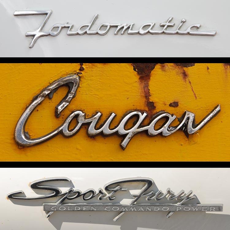 » Classic Chrome Car Emblems: