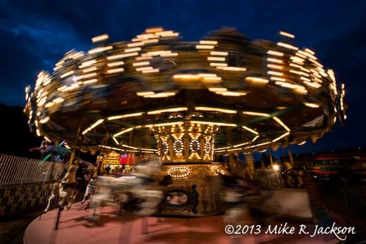 Motion Blur - Merry-Go-Round