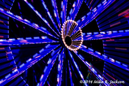 Web Fair Ferris Wheel Center Abstract July25