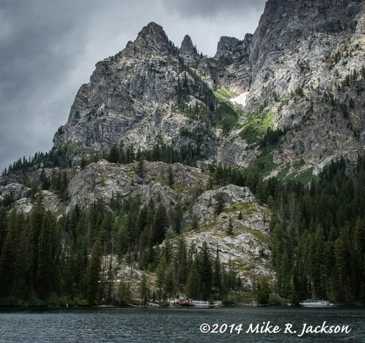 Boat Ride to Cascade Canyon