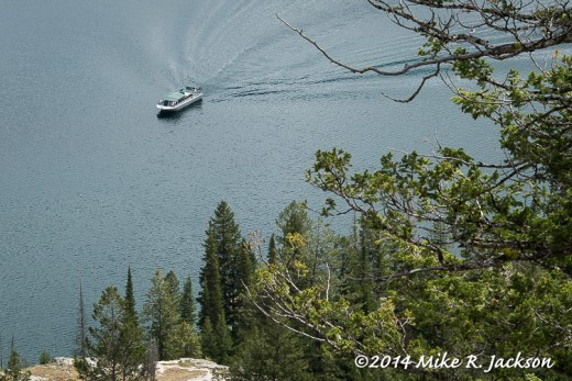 Cascade Canyon Incoming Ferry