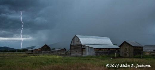 Lightning in the Gros Ventre
