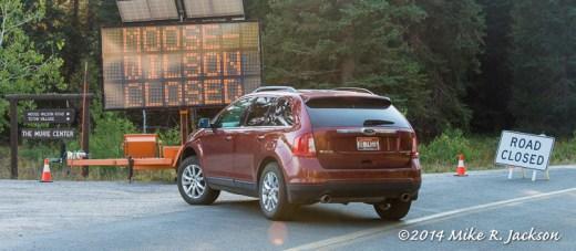 Road Closure Signs