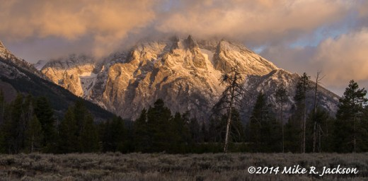 Morning Light on Mt. Moran