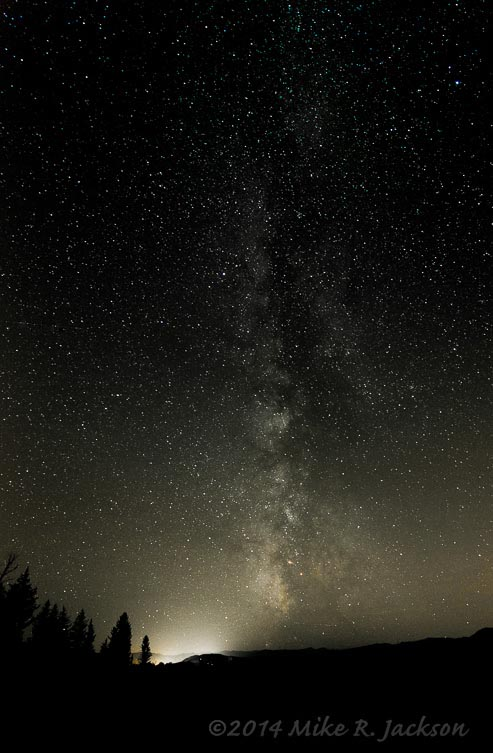 Night Sky with the Milky Way