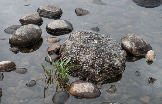 Rocks on Cottonwood Creek