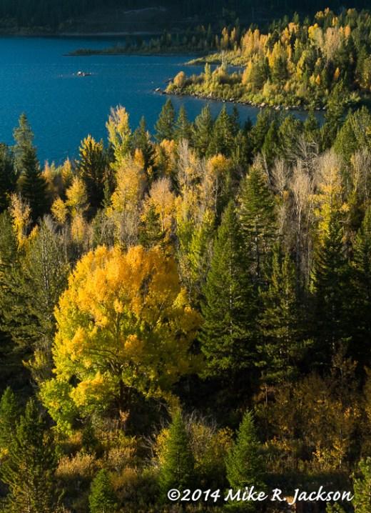 Slide Lake in the Fall