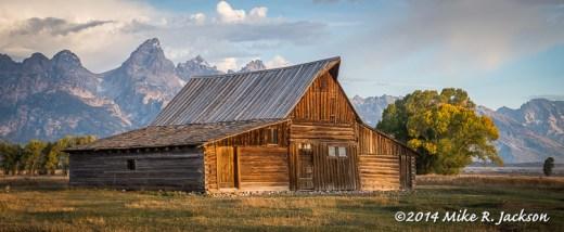 TA Moulton Barn at Sunrise