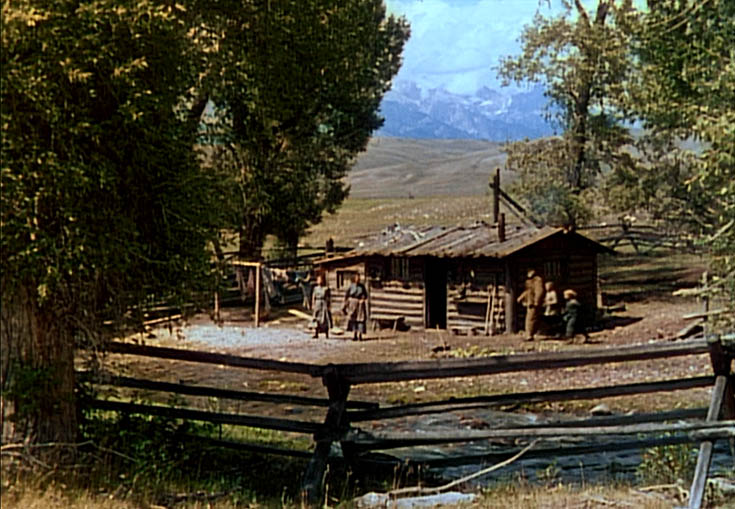 Shane the epic western movie filmed in jackson hole for Cabins in jackson hole