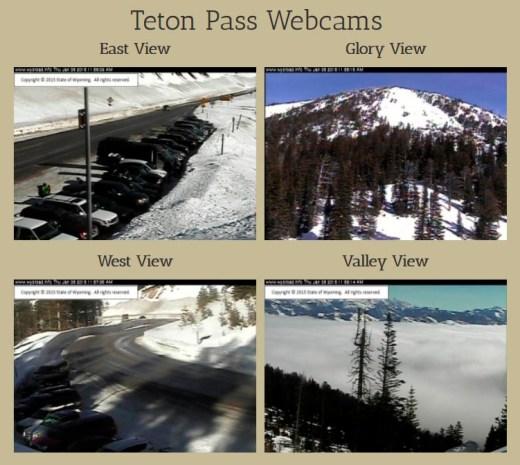 1:00 PM Teton Pass Web Cam