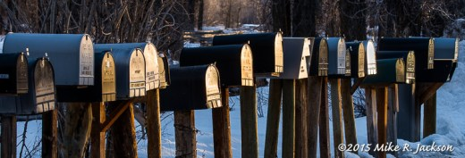 Morning Mailboxes