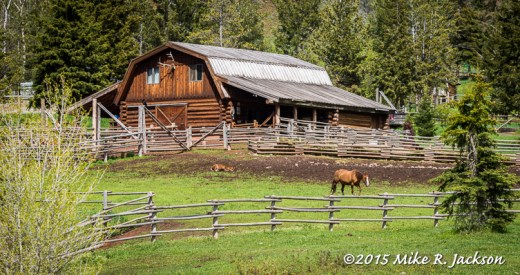 Gros Ventre River Ranch Barn