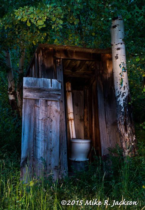 Bar-B-C Outhouse