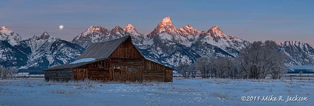 187 Mormon Row In Winter Best Of The Tetons