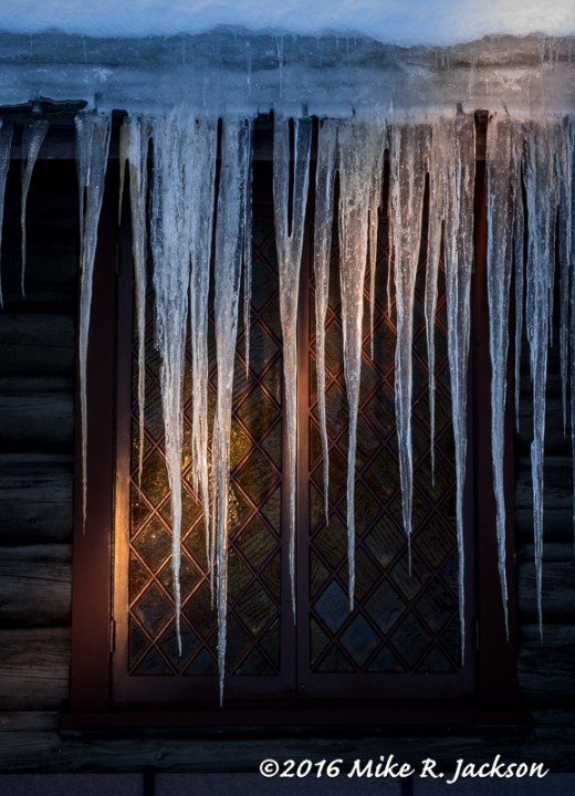 Chapel Icicles