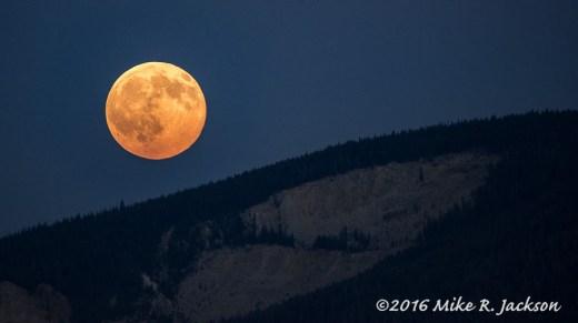 Smoky Full Moon