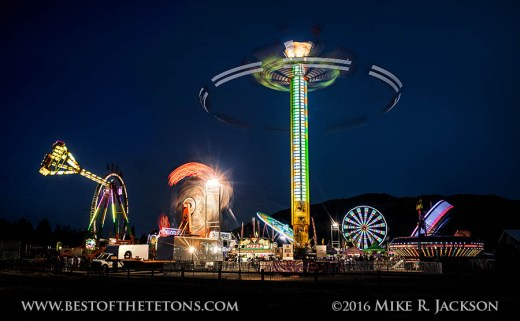 Final Night at the Teton County Fair