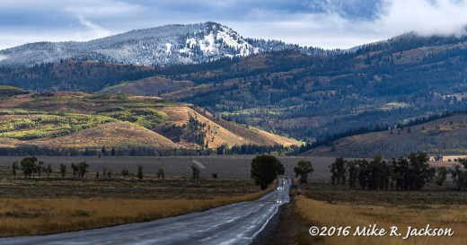 Towards the Gros Ventre