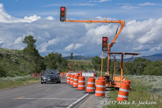 Gros Ventre Stop Light