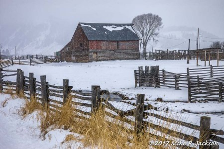Jackson Hole's Historic Fences