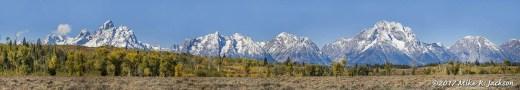 Teton Range Pano