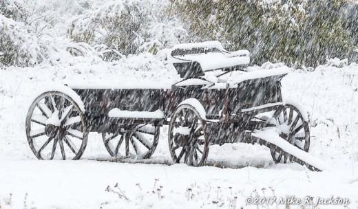 Snowy Wagon