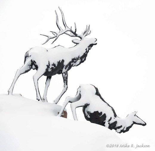 Elk Sculptures