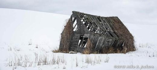 Leaning Farm House