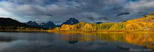 Bands of Light at Oxbow Bend