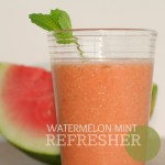 Super Smoothies :: Watermelon Mint Refresher