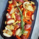 In Season :: Roasted Potatoes, Parsnips & Carrots