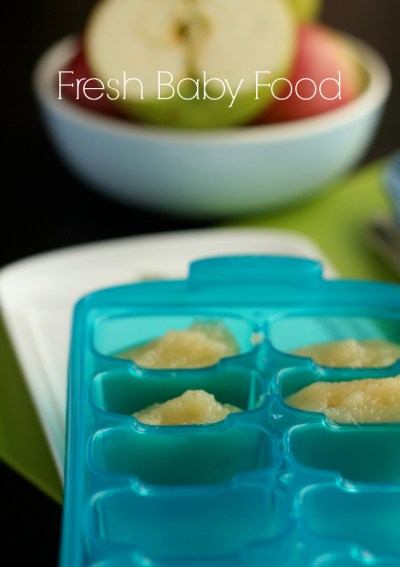 Homemade Baby Food + Munchkin Giveaway! *closed