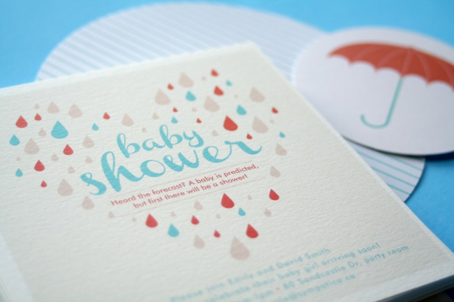 Shower of Love Invitations www.bestofthislife.com