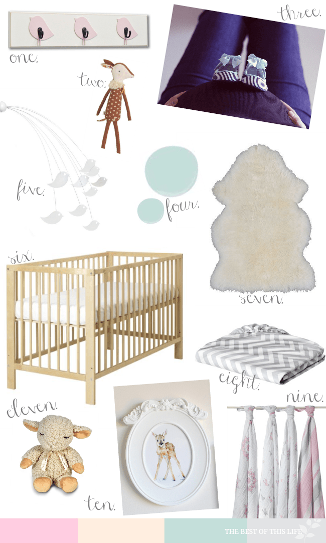 Baby Girl Nursery Inspiration The Best Of This Life