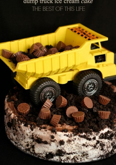A Dump Truck Birthday Party for Little A.