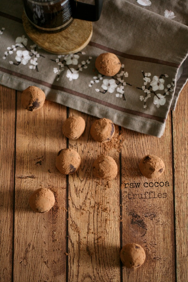 The Best of this Life |  Raw Cocoa Truffles