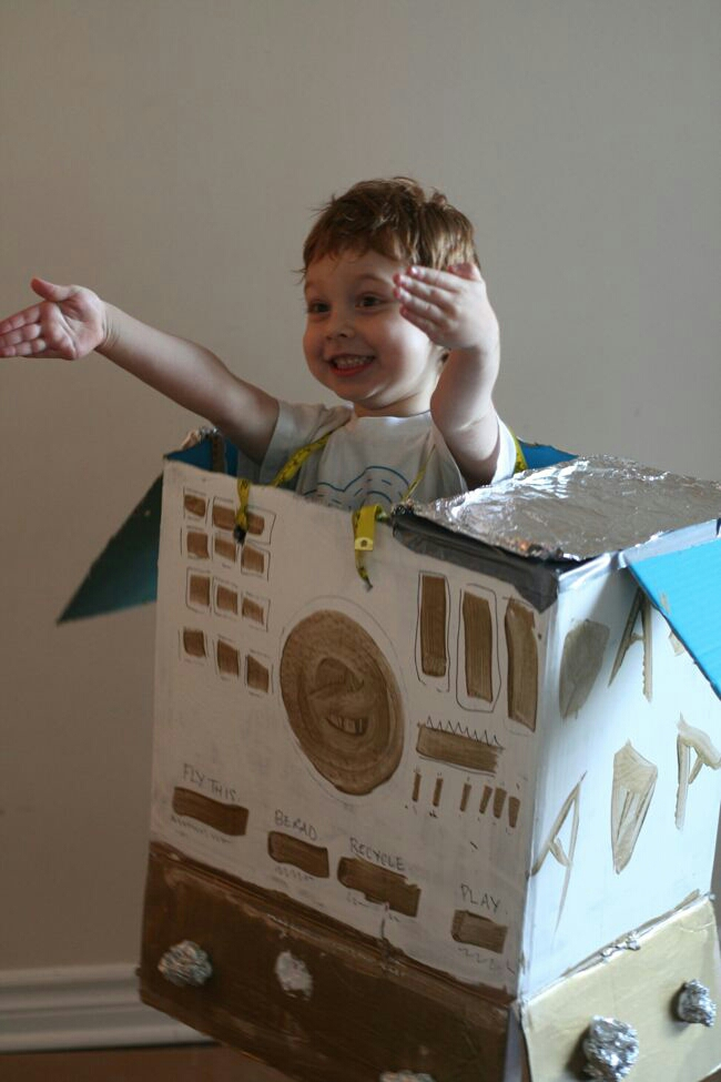 Spaceship DIY with Honest Box | The Best of this Life #honestDIY