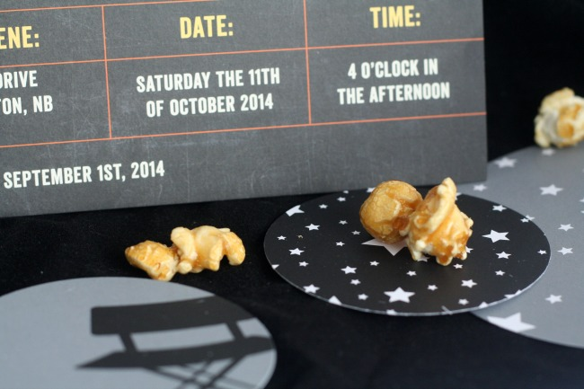 Movie-Themed Wedding Decorations and Table Confetti | The Best of this Life