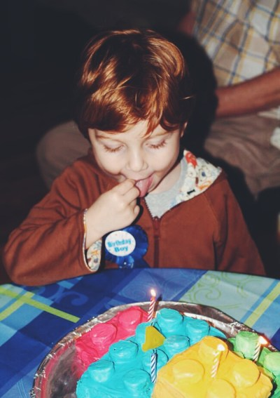 My son turns four and what that means to me.
