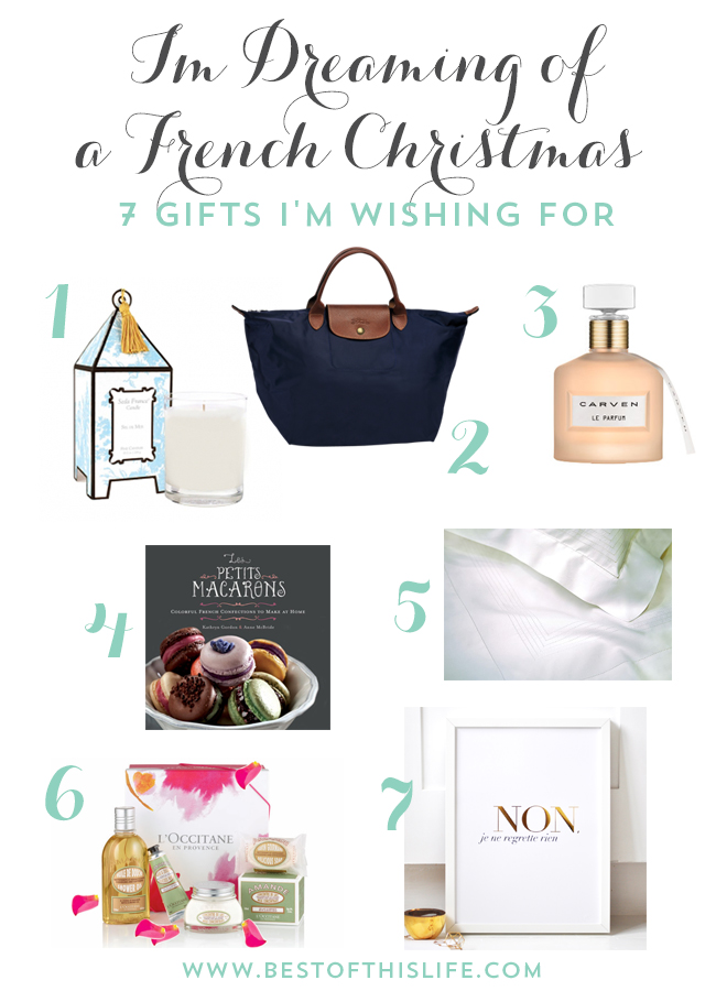 Dreaming of a French Christmas - Gift Wishlist