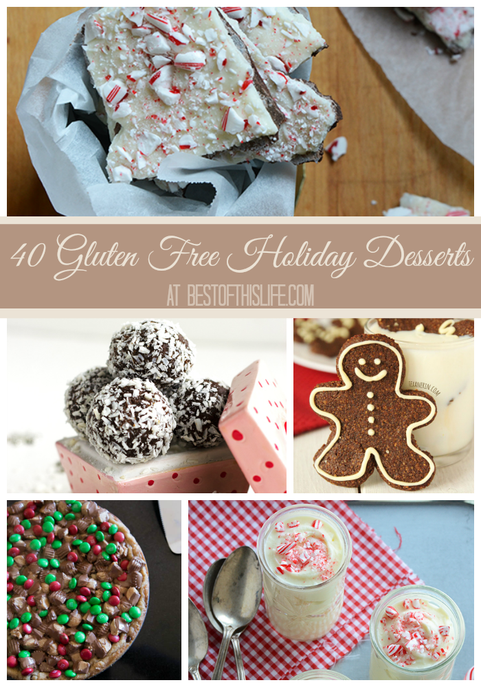 Gluten Free Desserts For The Holidays (40 Recipes)
