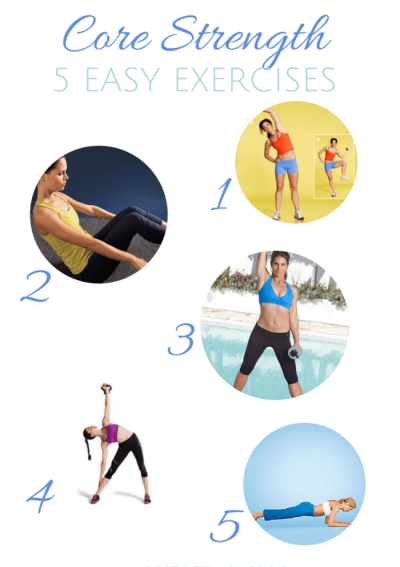 5 Easy Core Strength Exercises