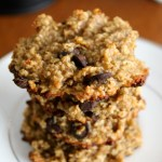 Healthy Oat Banana Chocolate Chip Cookies
