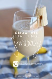 31 Days / 31 Smoothies Challenge