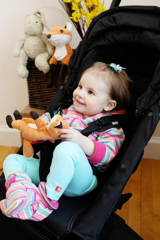 Trying out the new NUNA PEPP lightweight stroller on The Best of this Life