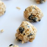 Blueberry Coconut Peanut Butter Snack Bites