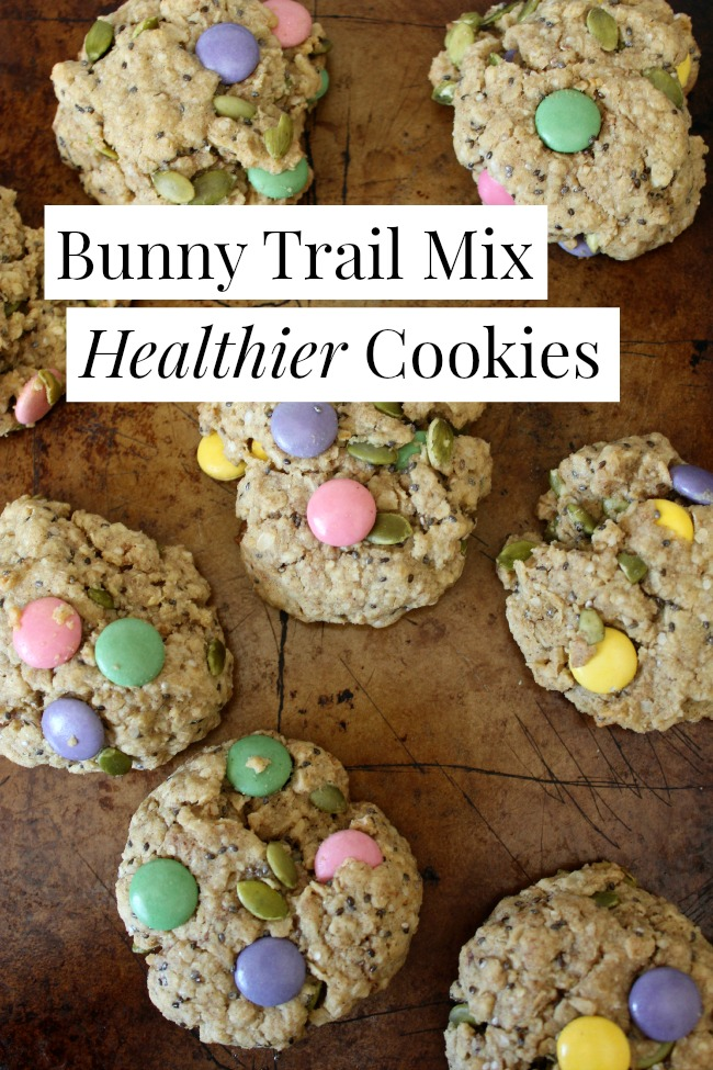 Bunny Trail Mix Cookies #glutenfree
