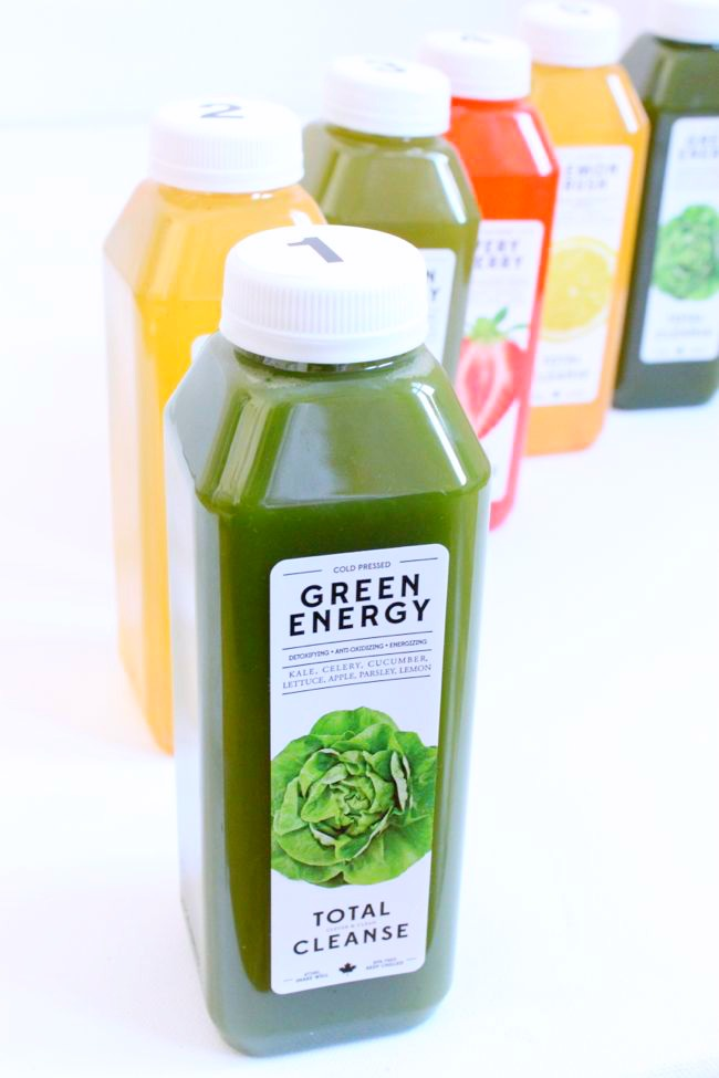 The 3 Day refresh Juice Cleanse Kit 6 juices per Day