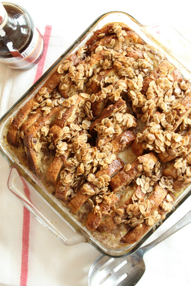 PURE Maple Syrup French Toast Casserole Gluten-Free